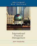 International Financial Management  Abridged Edition PDF