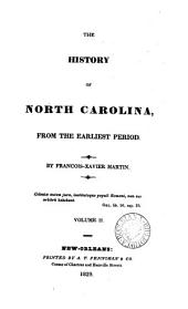 The history of North Carolina: Volume 2