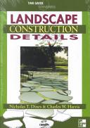 Time Saver Standards for Landscape Construction Details PDF
