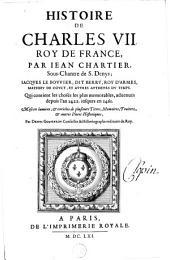 Histoire de Charles VII, roy de France
