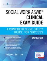 Social Work ASWB Clinical Exam Guide  Second Edition PDF