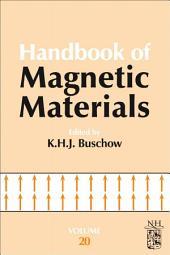 Handbook of Magnetic Materials: Volume 20