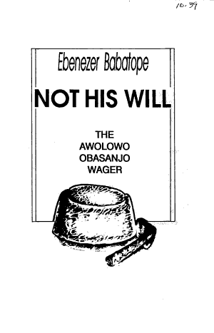 Not His Will PDF