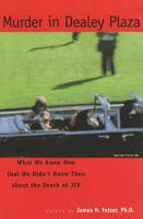 Murder in Dealey Plaza PDF