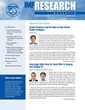 IMF Research Bulletin, March 2013