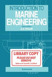 Introduction to Marine Engineering: Edition 2