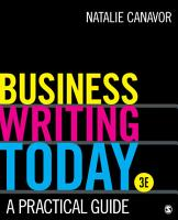 Business Writing Today PDF