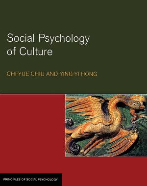 Social Psychology of Culture