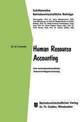 Human Resource Accounting: Eine betriebswirtschaftliche Humanvermögensrechnung