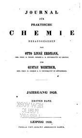 Journal für praktische Chemie: Band 76