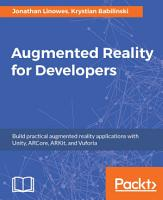 Augmented Reality for Developers PDF