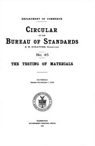 The Testing of Materials PDF