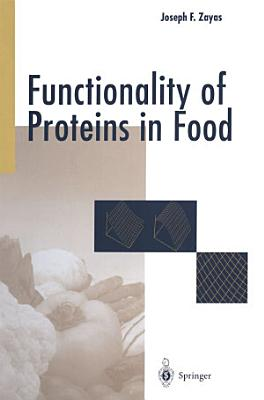 Functionality of Proteins in Food