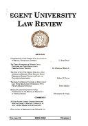 Regent University law review