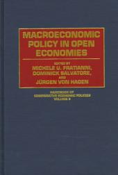 Macroeconomic Policy in Open Economies
