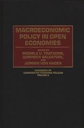 Macroeconomic Policy in Open Economies PDF