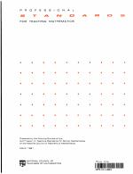 Professional Standards for Teaching Mathematics PDF