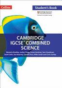 Cambridge IGCSE   Combined Science  Student Book PDF