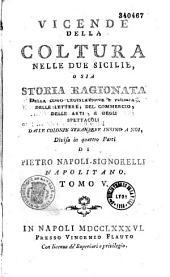 Vicende della coltura nelle due Sicilie...
