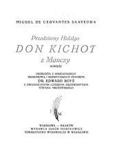 Don Kiszot z Manszy