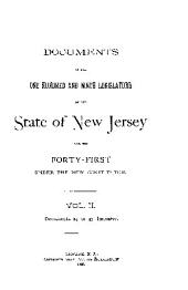 Documents of the Legislature of the State of New Jersey: Volume 109, Part 2
