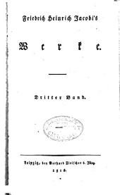 Friedrich Heinrich Jacobi's werke: Band 3