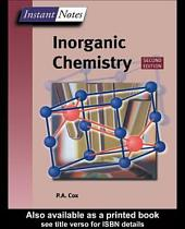 BIOS Instant Notes in Inorganic Chemistry: Edition 2