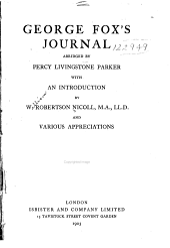 George Fox's Journal