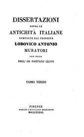 Dissertazioni sopra le antichità italiane: Volume 3