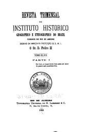 Revista do Instituto Histórico e Geográfico Brasileiro: Edição 47