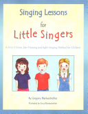 Singing Lessons for Little Singers Book