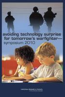 Avoiding Technology Surprise for Tomorrow s Warfighter PDF
