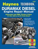 Duramax Diesel Engine Repair Manual PDF