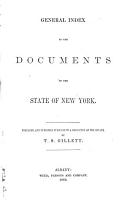 General Index to the Documents of the State of New York PDF