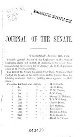 Journal of Proceedings of the ... Annual Session of the Wisconsin Legislature for the Year ...