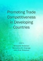 Promoting Trade Competitiveness in Developing Countries PDF