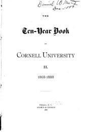 The Ten-year Book of Cornell University ...