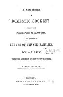 A New System of Domestic Cookery     A new edition PDF