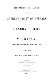 Reports of Cases in the Supreme Court of Appeals of Virginia: Volume 49