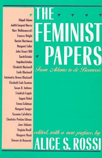 The Feminist Papers PDF