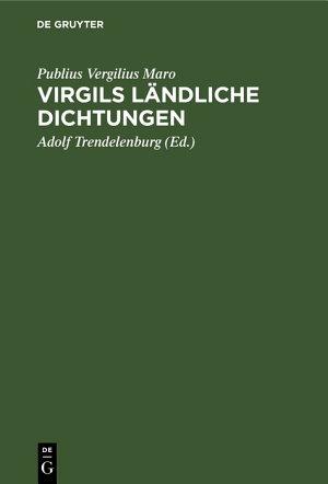 Virgils l  ndliche Dichtungen PDF