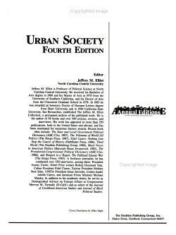 Urban Society PDF