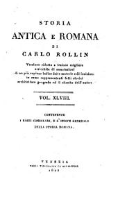 Storia antica e romana. Versione ridotta a lezione migliore, arricchita di annotazioni (etc.)