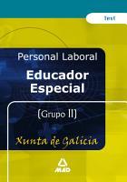 Educador Especial de la Xunta de Galicia  Test Ebook PDF