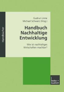 Handbuch Nachhaltige Entwicklung PDF