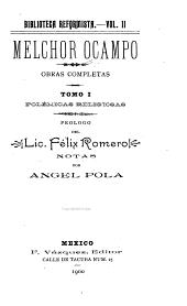 Obras completas: Volumen 1