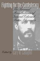 Fighting for the Confederacy PDF