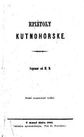 Epištoly kutnohorskĕ