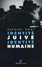 Identité juive, identité humaine
