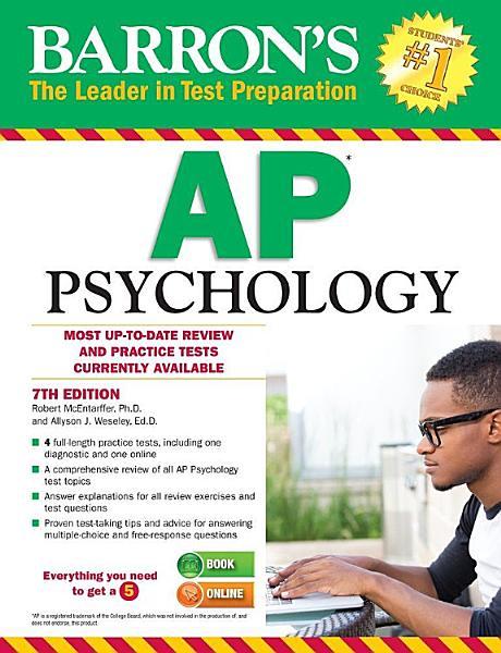 Barron's AP Psychology, 7th edition